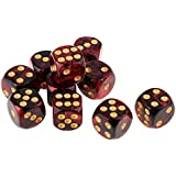 F Fityle 樹脂 サイコロ テーブルゲーム用 全10選択 - #5