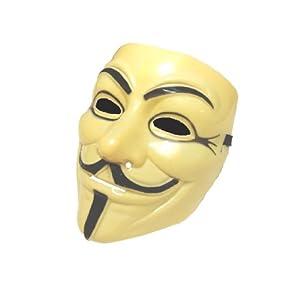 V for Vendetta Mask White ガイ・フォークス アノニマス 仮面マスク コスチューム用小物