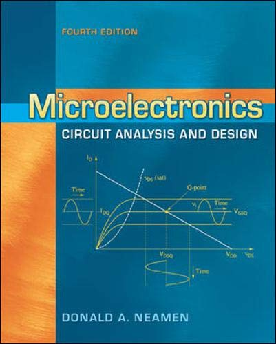 Download Microelectronics Circuit Analysis and Design 0073380644