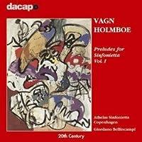 ホルンボー:シンフォニエッタのための前奏曲集 第1集