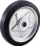 TRUSCO(トラスコ) ゴム車輪のみ200 TW200