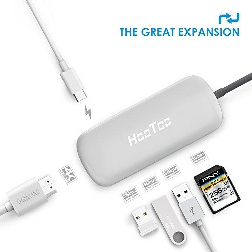 HDMI出力とUSB-C充電・SDカードリーダーに対応したUSB-Cハブ「HooToo USB Type-C ハブ(HT-UC001)」