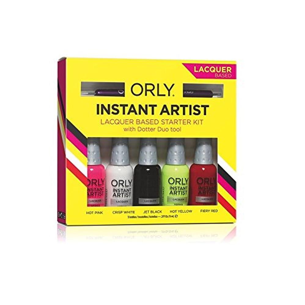 青写真マウスうめき声Orly - Nail Laquer - Instant Artist Starter Kit - Lacquer Based