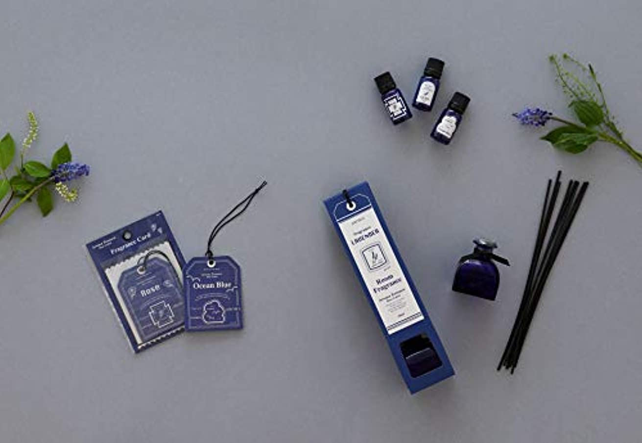 追い出す瞑想的お祝いブルーラベル フレグランスカード ラベンダー(エアフレッシュナー 芳香剤 心落ち着ける清々しい香り)