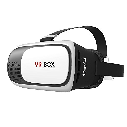 T-product(ティープロダクト) VR BOX 3D VRメガネ ゴーグル スマホ 3D映像体験 バーチャル リアリティ (...