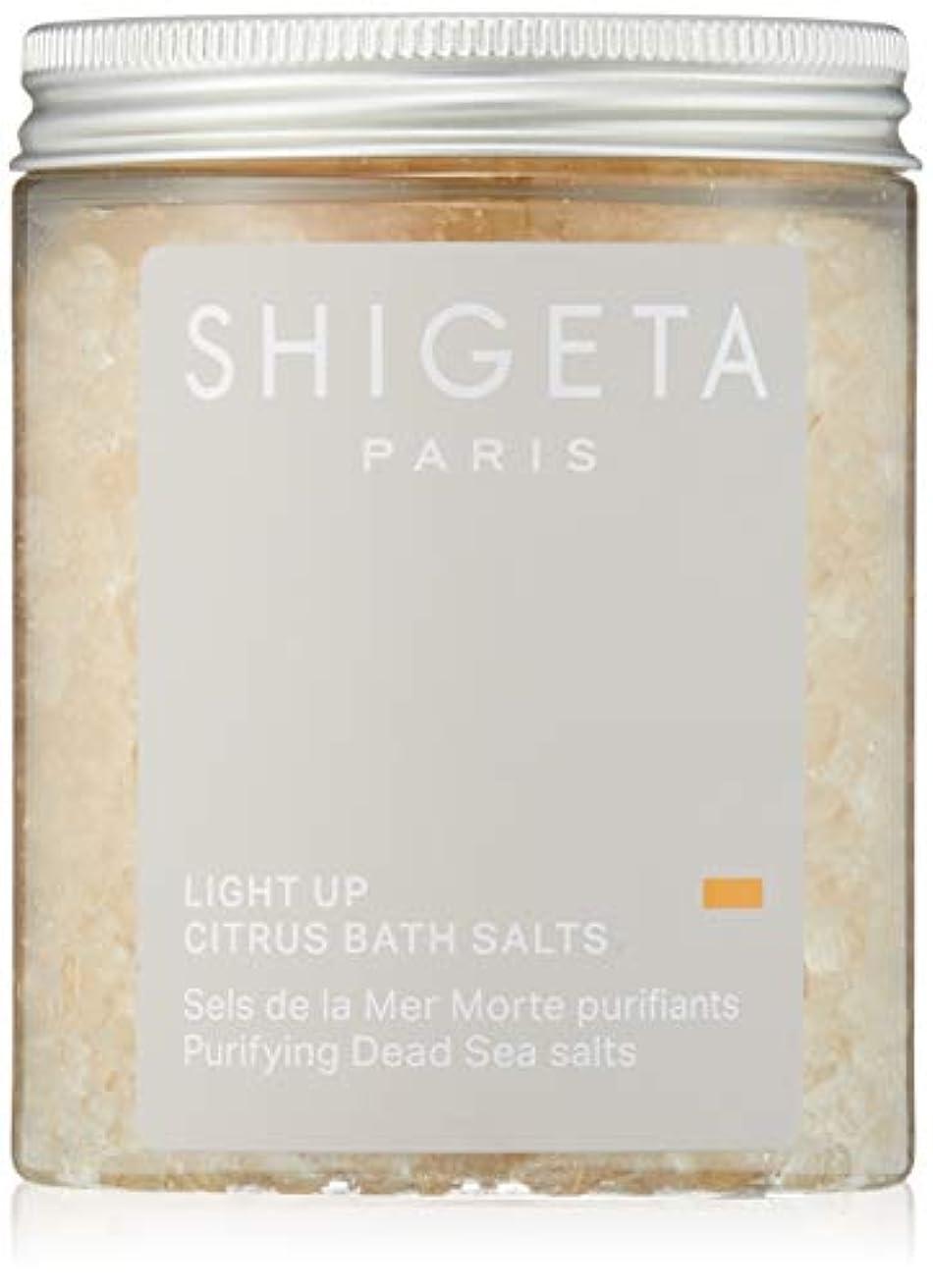 砂賢い伝記SHIGETA(シゲタ) ライトアップ バスソルト 285g