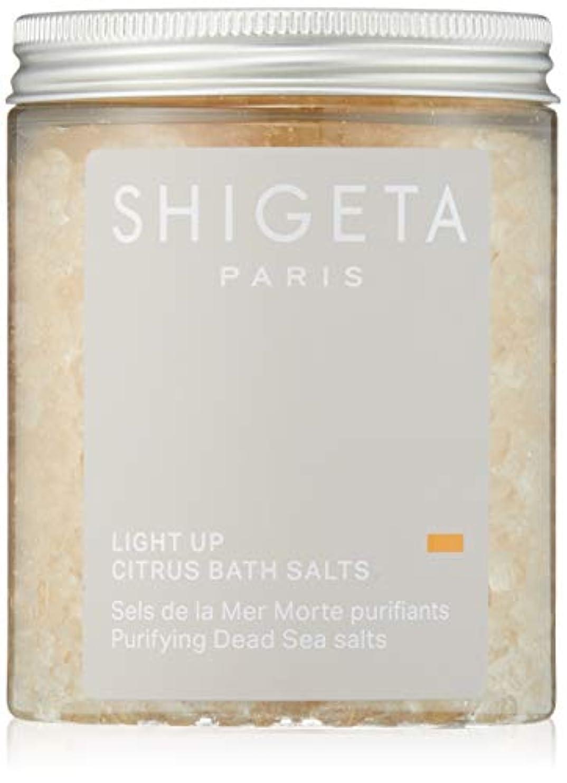 取り壊すスリラー水平SHIGETA(シゲタ) ライトアップ バスソルト 285g