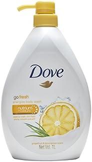 Dove Energize Grapefruit and Lemongrass Body Wash, 1L