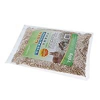 Fenteer ハムスター 天然 トウモロコシ穂軸顆粒 パッド 安全