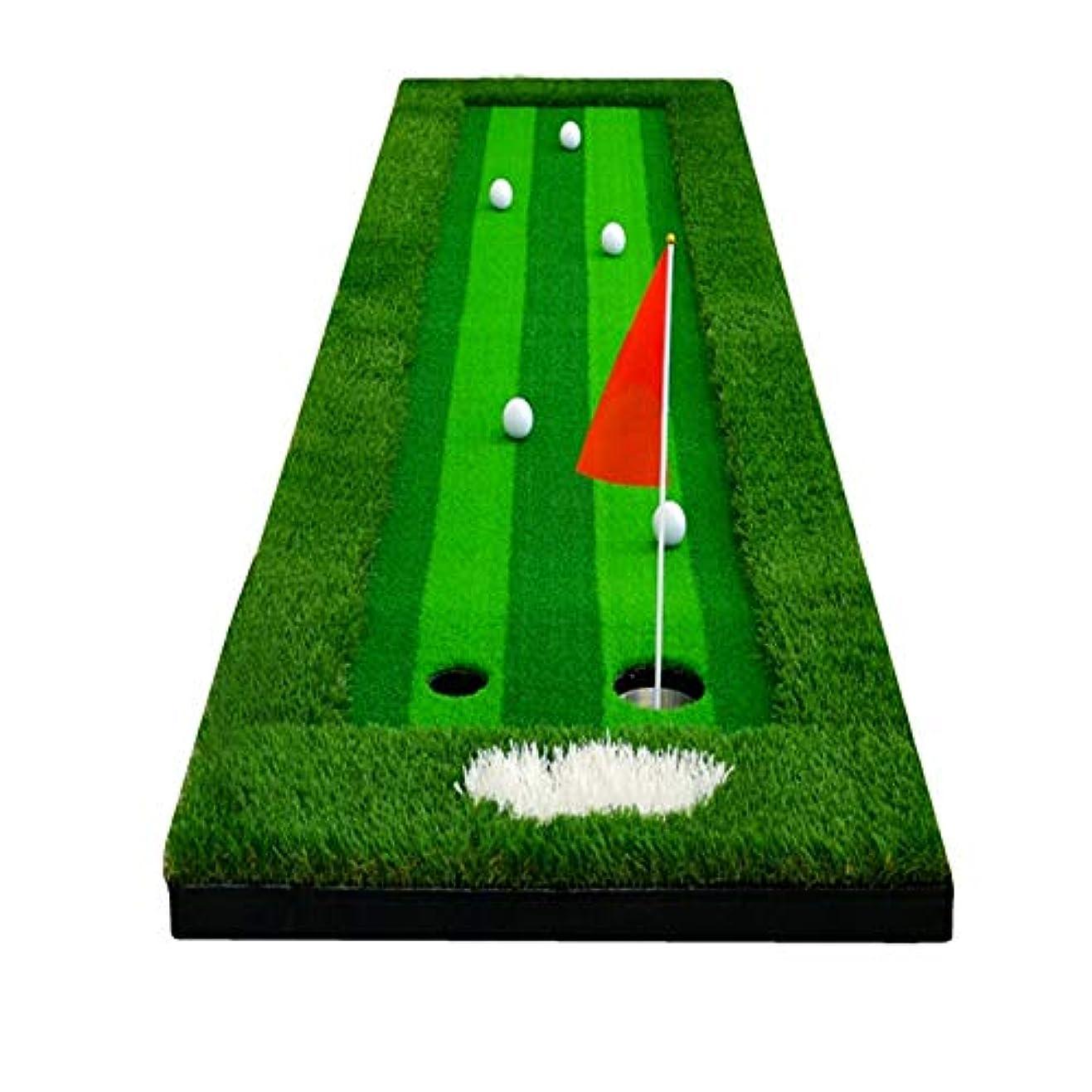 ラップトップバーゲン文献CHSY ゴルフ練習キットパター練習ブランケットゴルフ打撃マットシミュレーション4色ロンググラス ショット用マット