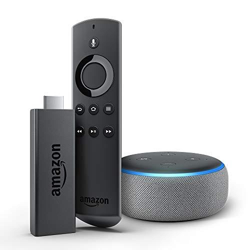 【セットでお得】Fire TV Stick + Echo Dot (ヘザーグレー)