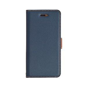 ラスタバナナ iPhone8/7/6s/6 ケース/カバー 手帳型 +COLOR 衝撃吸収 薄型 サイドマグネット NV×BR アイフォン スマホケース 3436IP7SA