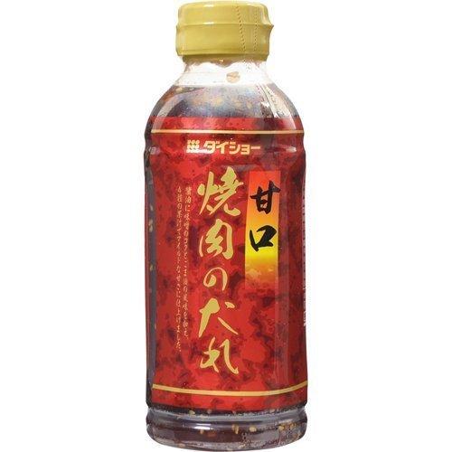ダイショー 焼肉のたれ 甘口 ボトル400g