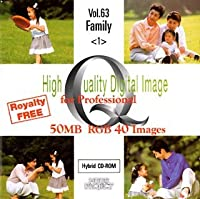 High Quality Digital Image for Professional Vol.63 Family