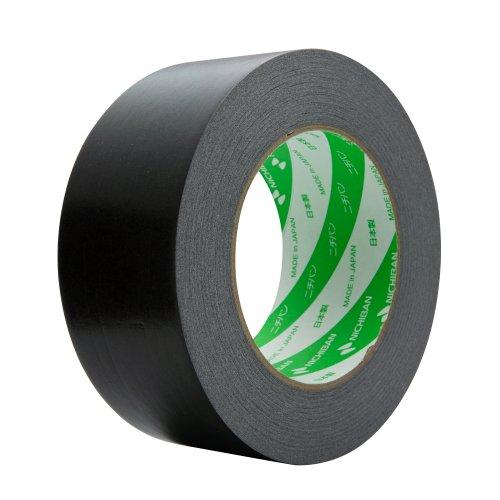 ニチバン 着色クラフトテープ 50mm×50m巻 305C6-50 黒