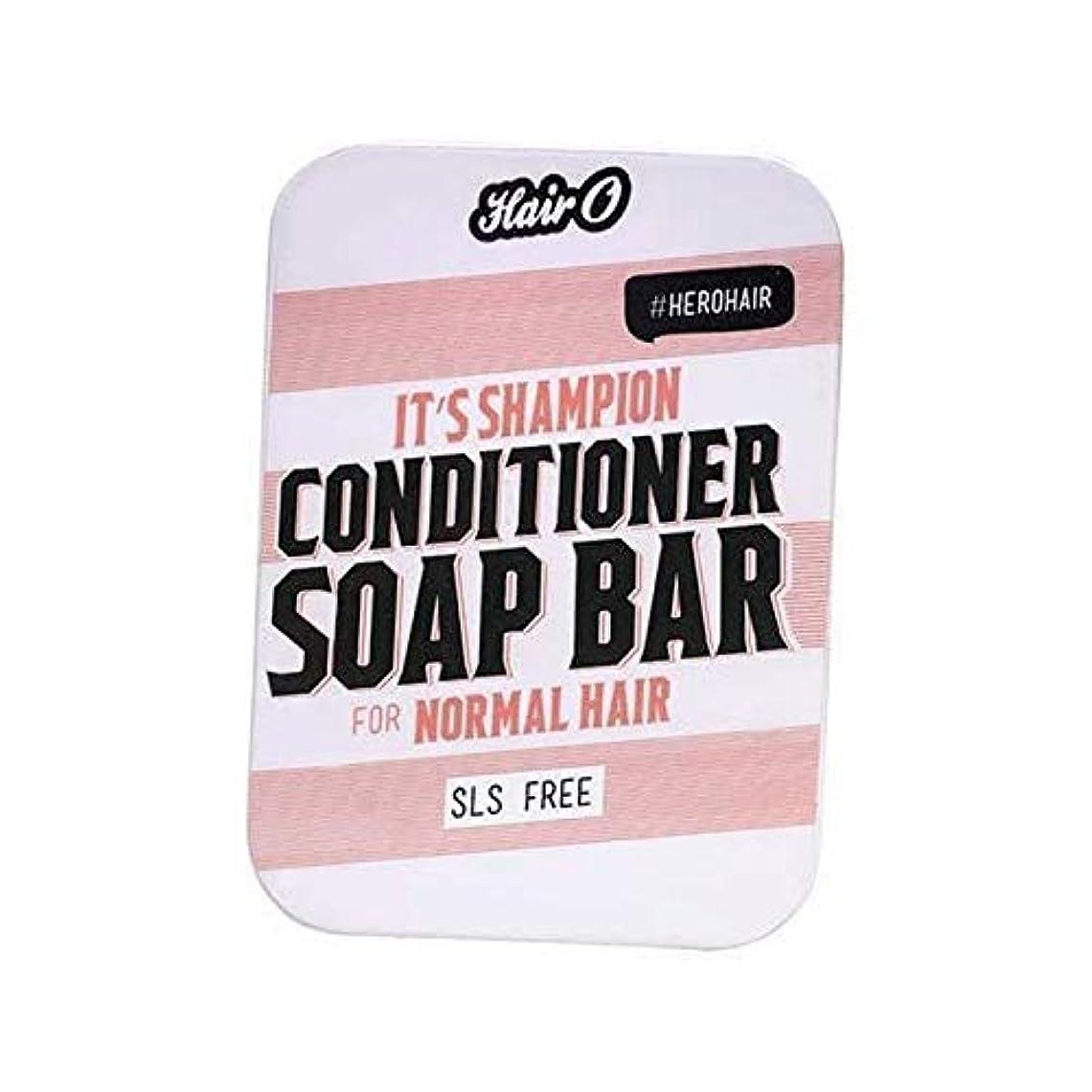 憤る方法論デッキ[Hair O ] それのShampionコンディショナーソープバー100グラムO毛 - Hair O It's Shampion Conditioner Soap Bar 100g [並行輸入品]
