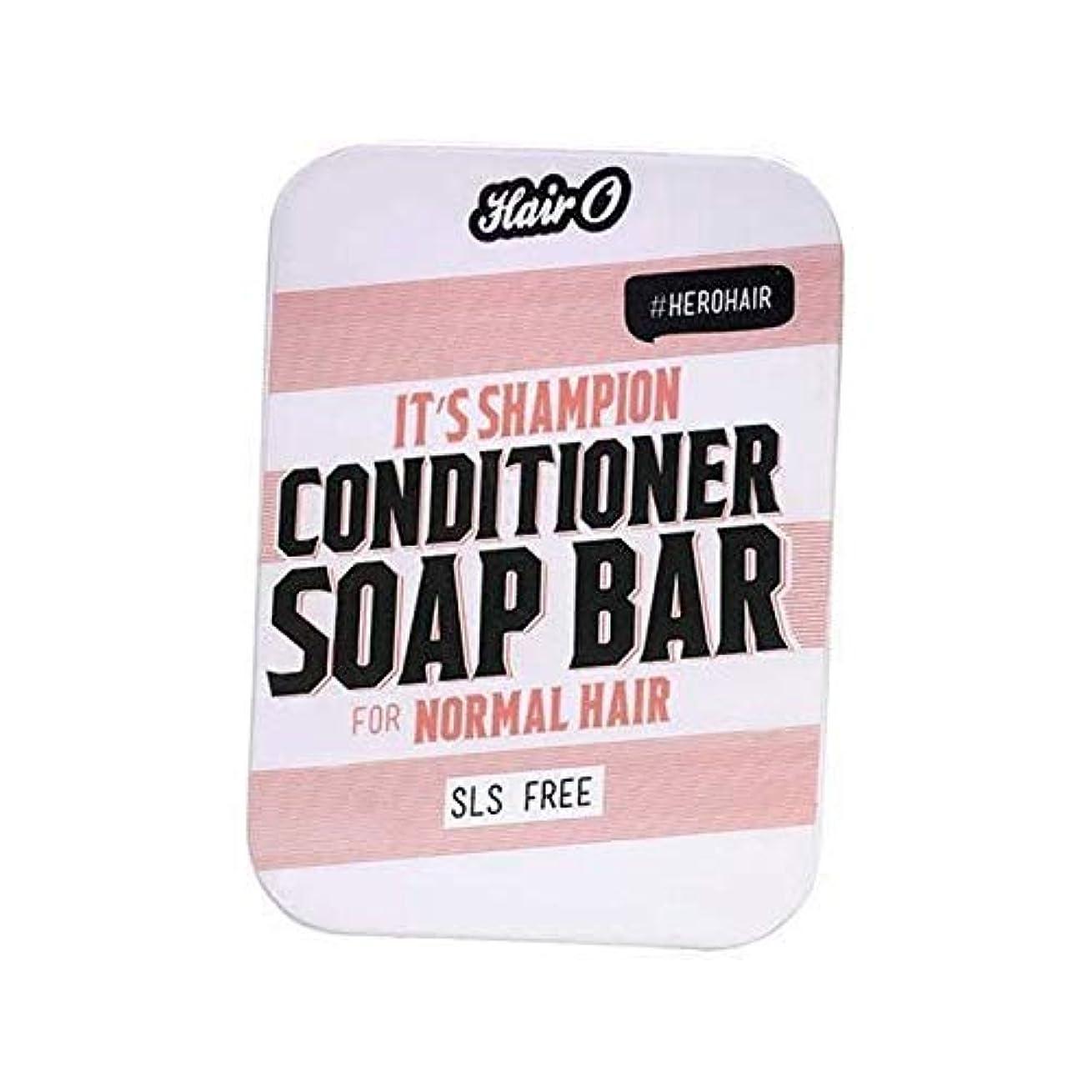 パラメータ読書をする男らしさ[Hair O ] それのShampionコンディショナーソープバー100グラムO毛 - Hair O It's Shampion Conditioner Soap Bar 100g [並行輸入品]