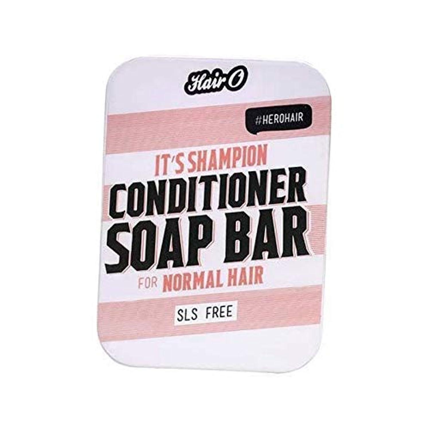 警報お茶失態[Hair O ] それのShampionコンディショナーソープバー100グラムO毛 - Hair O It's Shampion Conditioner Soap Bar 100g [並行輸入品]
