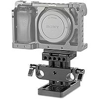 SmallRig 15mmロッドサポートベースプレート Arca Swiss互換カメラプレート対応-1729
