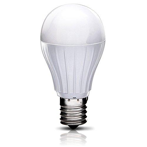 アイリスオーヤマ LED電球 口金直径17mm 60W形相当 電球色 広配光タイプ 密閉形器具対応 LDA8L-G-E17-6T2