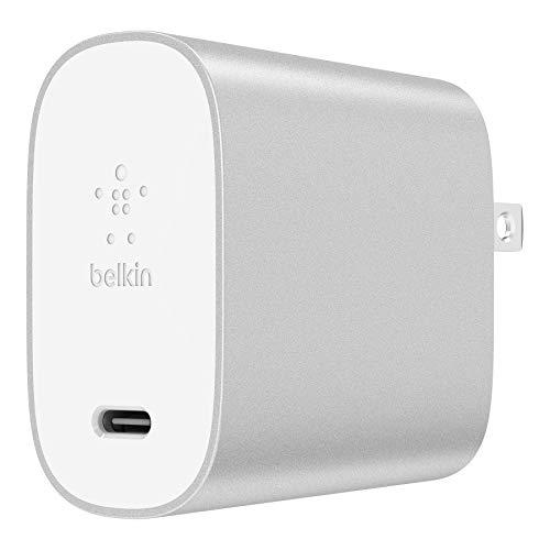 【Amazon.co.jp 限定】Belkin BOOST CHARGE USB充電器(27W USB-C)[国内正規品] F7U060DQ-SLV-A