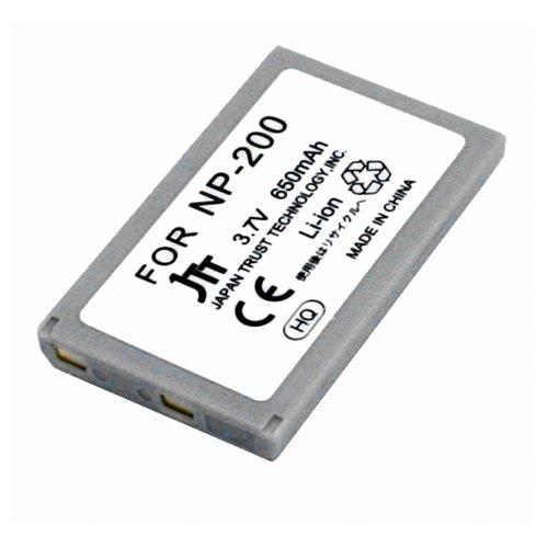日本トラストテクノロジー KONICA MINOLTA NP-200互換バッテリー MBH-NP-200