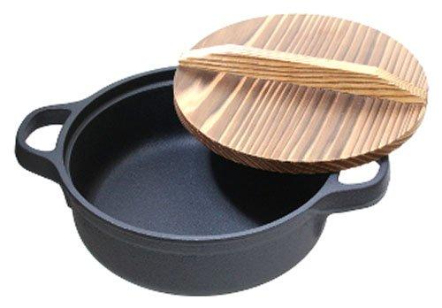 及源『すき焼ぎょうざ兼用鍋26cm』