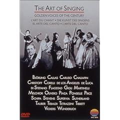 DVD《アート・オブ・シンギング - 偉大なる名歌手たち》の商品写真