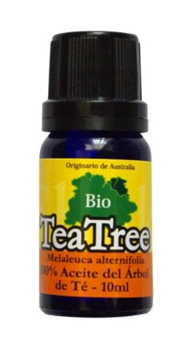 厚い役に立つゲインセイ100%有機栽培(オーガニック)ティーツリーオイル10ml