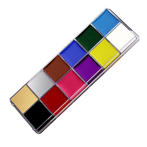 OSHIDE フェイスペイント 12色セット ボディペイント...