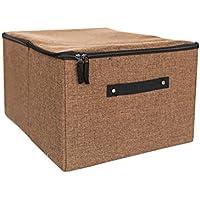 下着収納ボックス、リネンテクスチャ柔らかく快適な分類保管スペース、防湿および着用可能な引き出し収納ボックス。