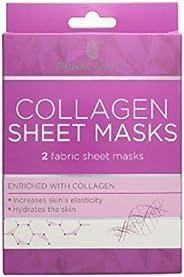 Skin Academy Sheet Masks, Collagen, 2 Sheets, 66g