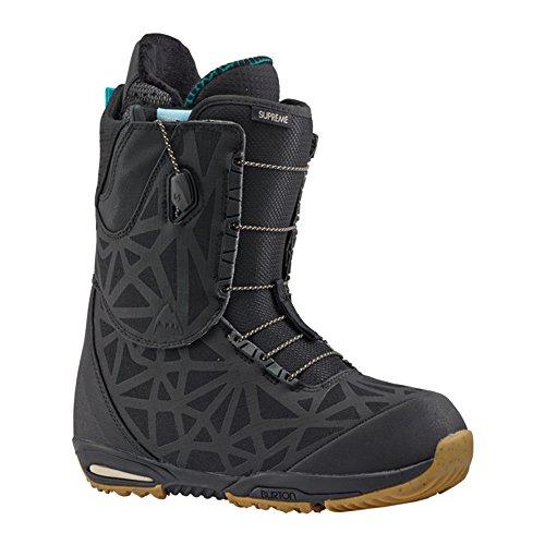 17-18 BURTON バートン SUPREME シュプリーム スノーボードブーツ Lady's レディース ブーツ SNOW BOOTS 正規品 (Black, 7.5_(24.5cm))