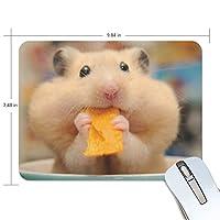 Jiemeil マウスパッド ペット ねずみ ラバー 高級感 おしゃれ 滑り止め PC  かっこいい かわいい プレゼント ラップトップ MacBook pro/DELL/HP/SAMSUNG などに プレゼント