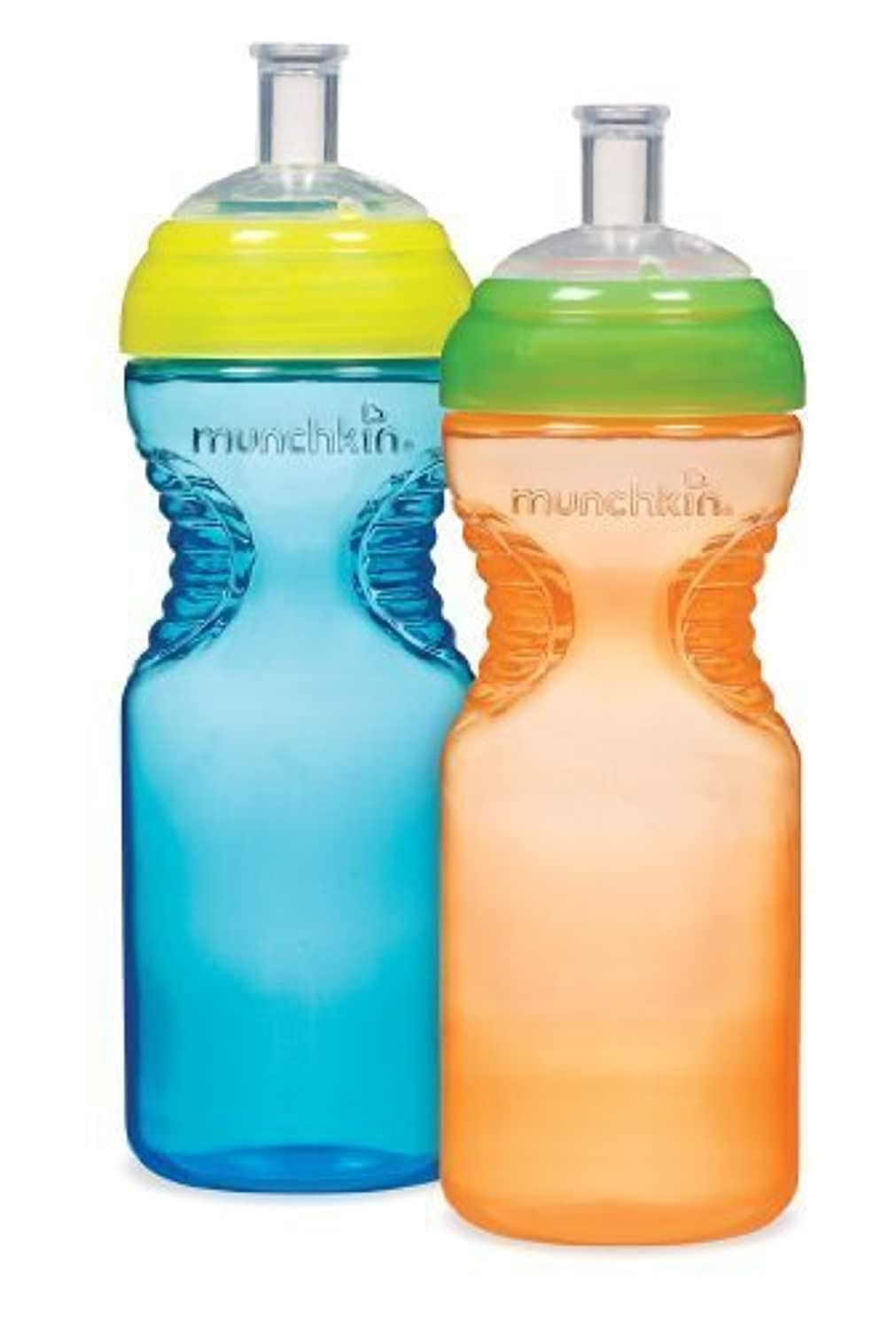 Munchkin BPA Free Mighty Grip Sports Bottle 2 Pack, 10 oz,Colors Vary (Discontinued by Manufacturer) by Munchkin [並行輸入品]