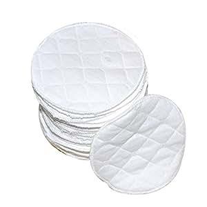 TELLME 6 pcs(3 ペア ) オーガニックバンブー 母乳パッド セット 6 pcs(3 ペア ) ふわふわオーガニックコットン100% 母乳パッド