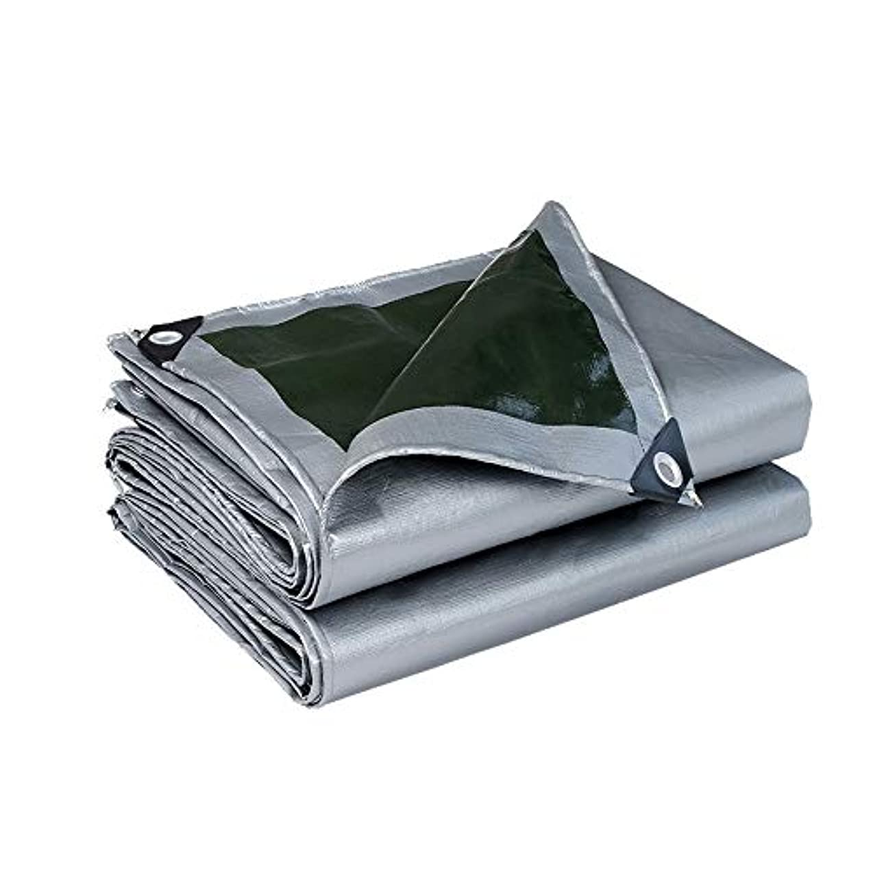 潮軽減する冷淡なスーパーヘビーポリタープ - グロメットと強化エッジを備えた厚手の防水性、耐UV性、腐敗、破れ防止、防水性の防水シート (Size : 5x7m)