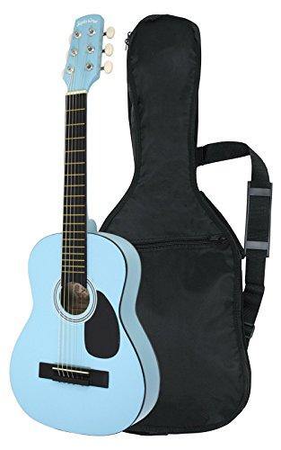 SepiaCrue セピアクルー ミニアコースティックギター W-50/UBL ライトブルー  ソフトケース付