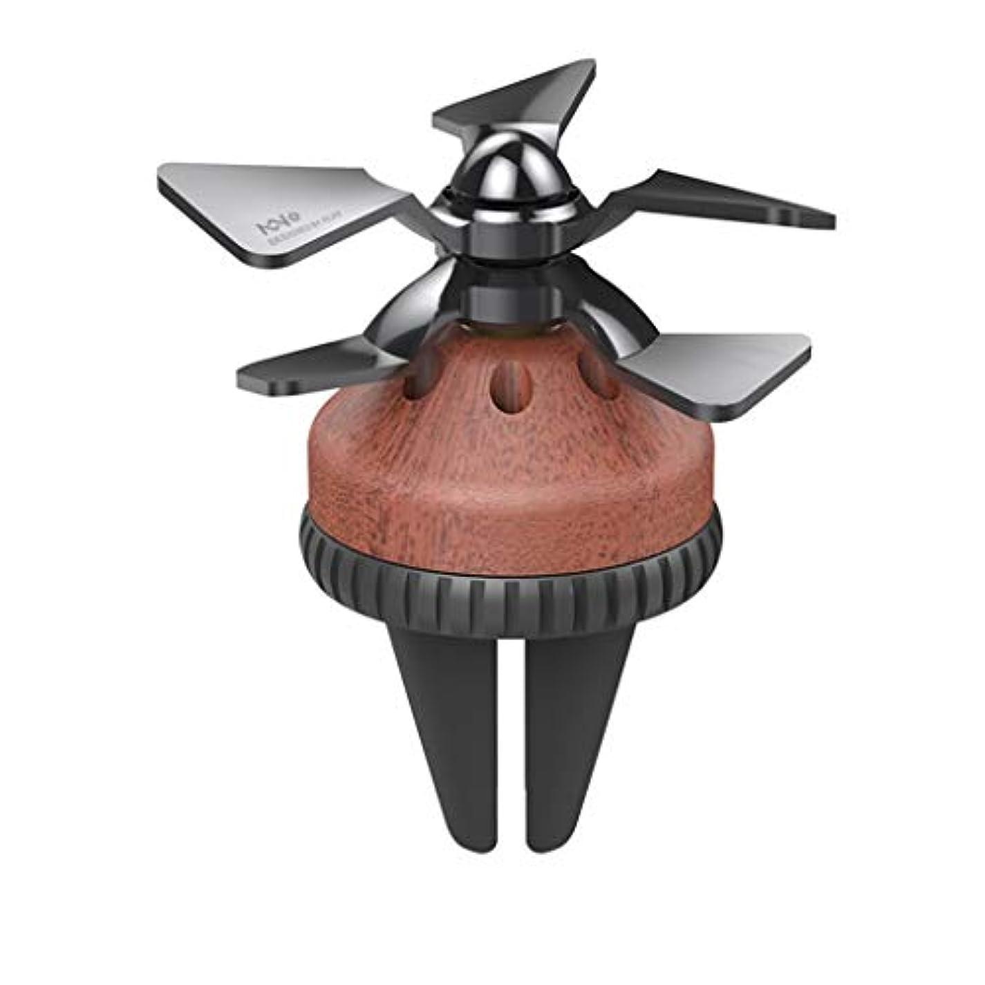 利得包囲応答LXX-车载香水 車の香水車のエアコンの吹き出し口回転小型ファンアロマテラピー空軍213車の室内装飾フレグランス (Color : B)
