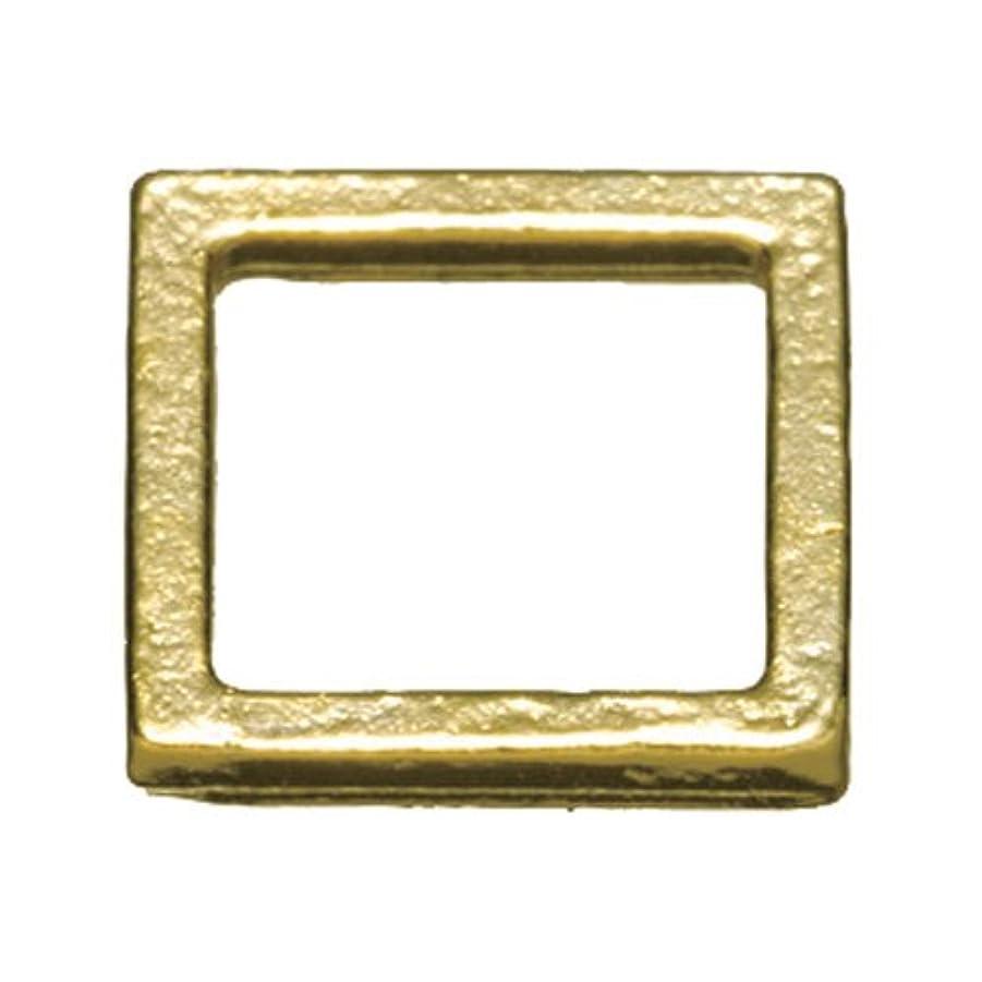 閲覧するよく話されるラリーベルモントプリティーネイル ネイルアートパーツ プレーンスクエアM ゴールド  12個
