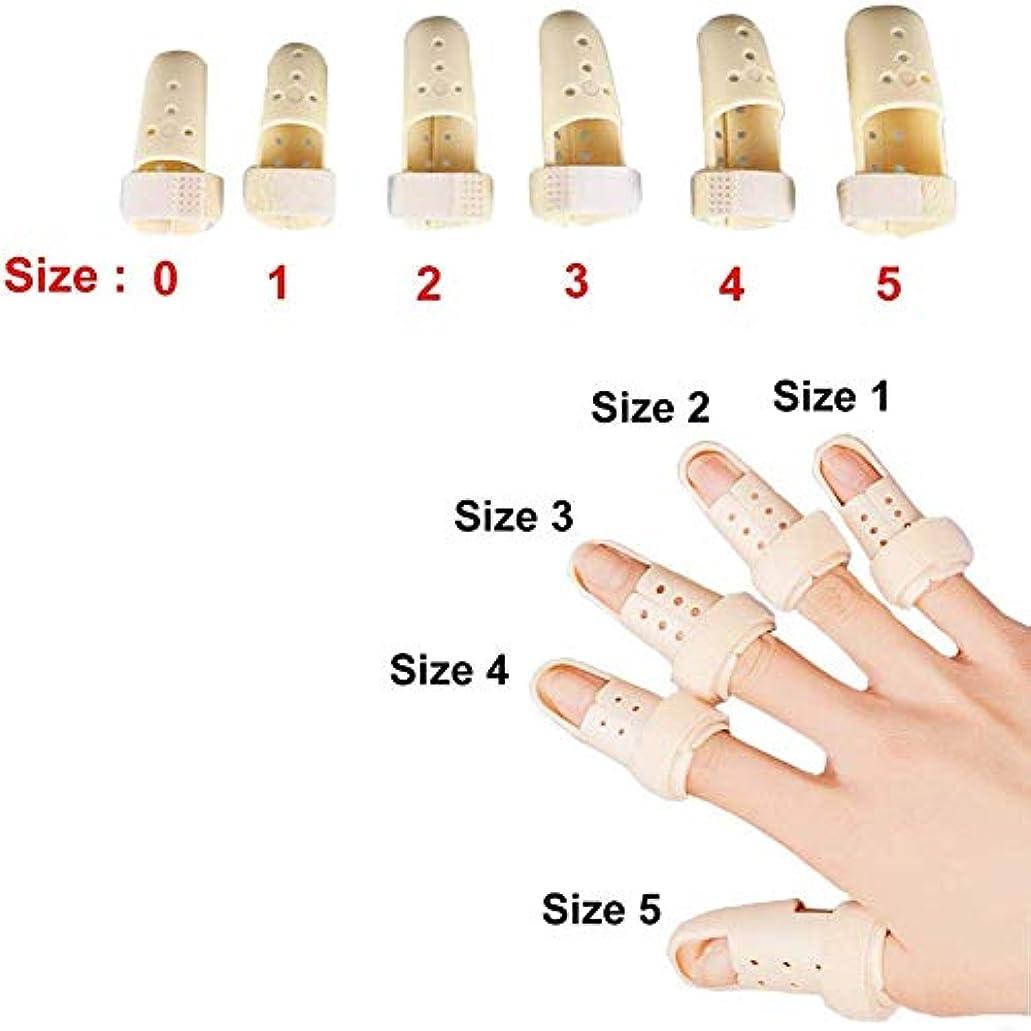静かな傷跡スカイ内蔵アルミサポートトリガー、調節可能なベルクロ、指スプリント、ばね指スプリントは、大人と子供の指ナックル固定化のために作ら (Size : XXL)