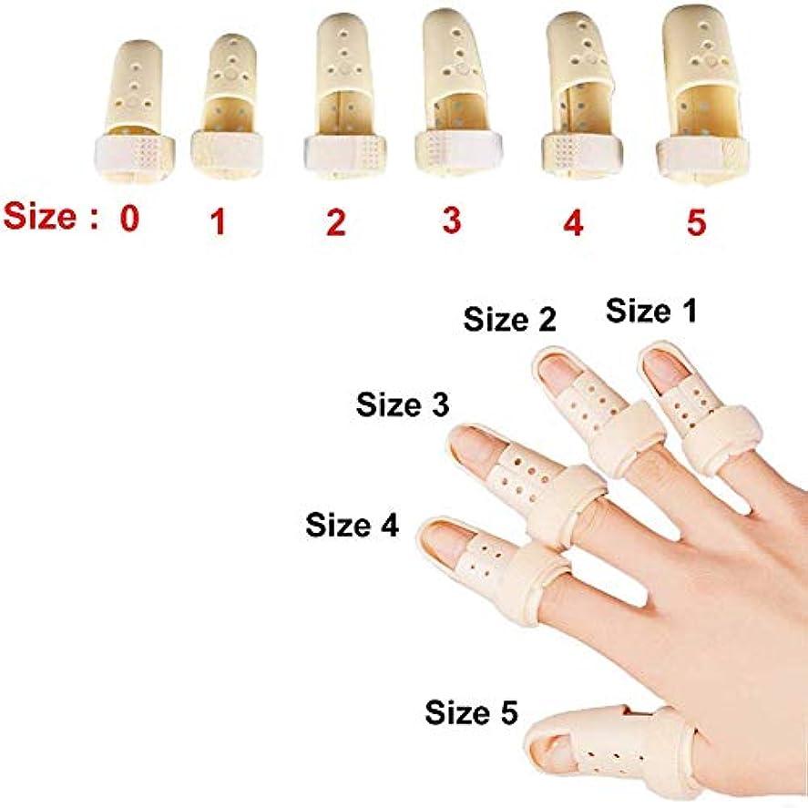 努力する耳アクチュエータ内蔵アルミサポートトリガー、調節可能なベルクロ、指スプリント、ばね指スプリントは、大人と子供の指ナックル固定化のために作ら (Size : XXL)