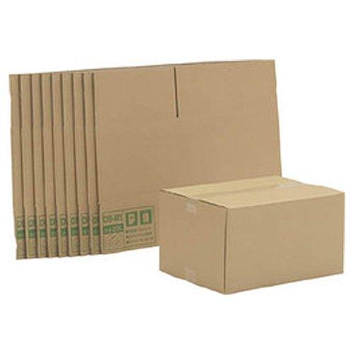 アイリスオーヤマ ダンボール ボックス DB-M1×10