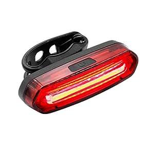 (ディヤード)Deyard 自転車用 テールライト サイクル 防水IPX6セーフティライト 赤青LED 六つ点灯モード USB充電式 リアライト