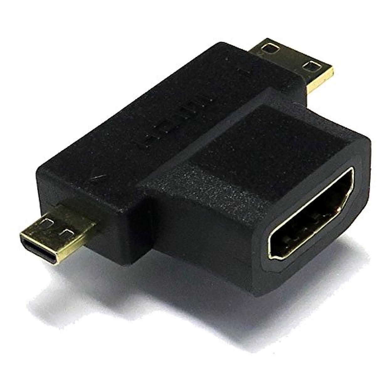 記憶に残る強打気性エスエスエーサービス [ HDMI 変換コネクタ?ver1.4対応 ] タイプA(メス)-タイプC(オス)またはタイプD(オス) SMH2M-HDMAF