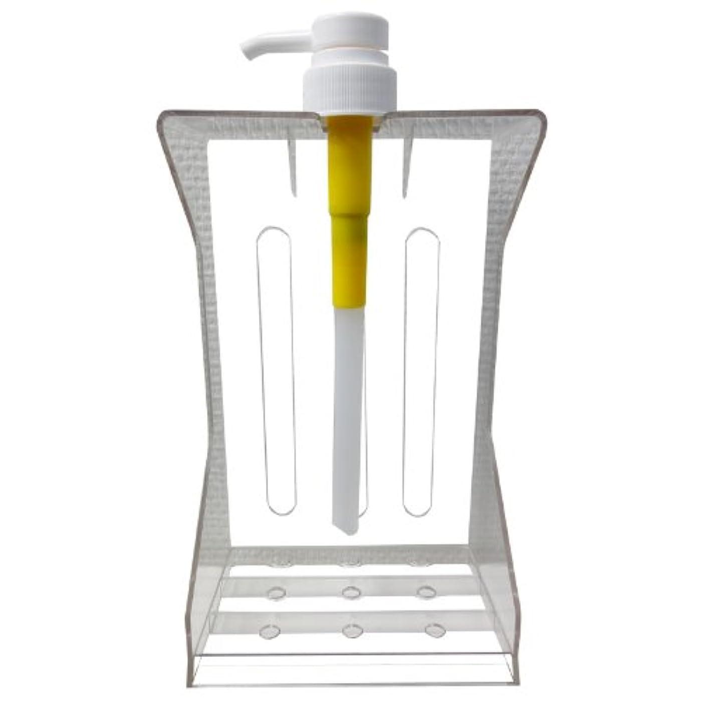 泣く創傷容器ナプラ インプライム プレミアリペア 1 / 3 専用スタンド台&ポンプセット
