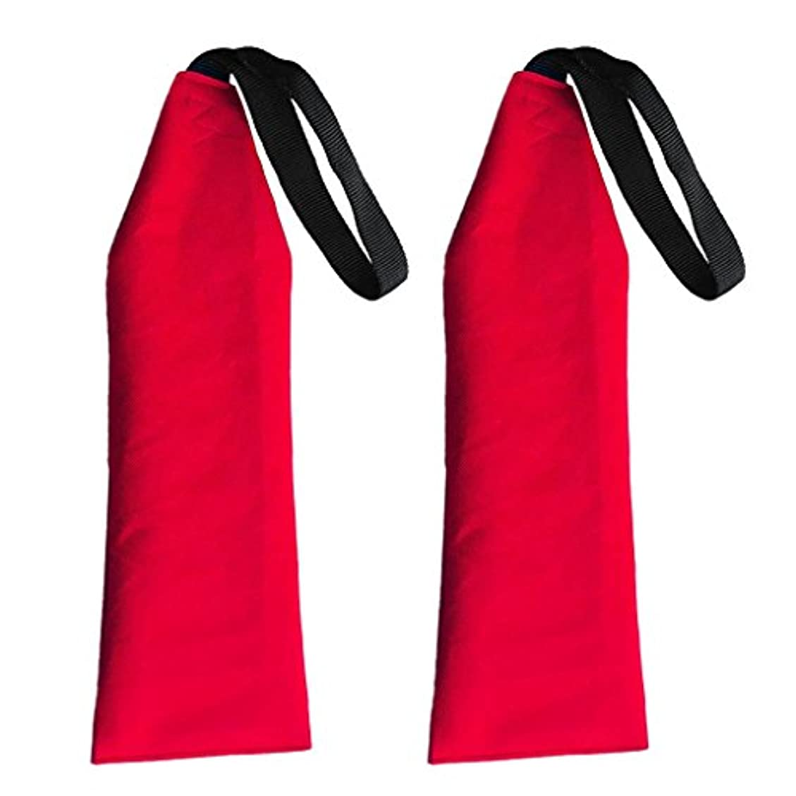 終了しました共産主義者スズメバチカヤックカヌーアクセサリーのための赤の安全旗カヌーカヤックフラグ