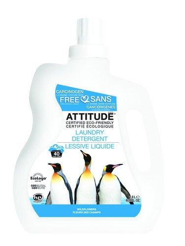 ATTITUDE(アティチュード) ランドリー(衣料用洗剤) ワイルドフラワー 1.8L