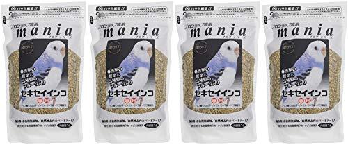 mmania(マニア) プロショップ専用 セキセイインコ 1L×4袋