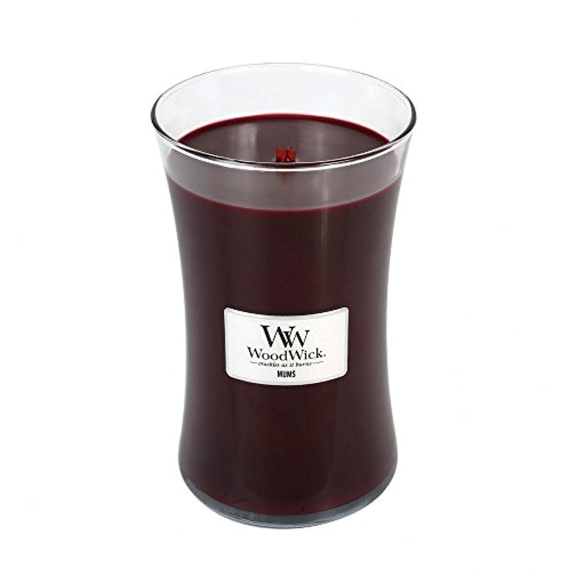 悪因子処理軍団Mums – WoodWick 22oz Large Jar Candle Burns 180時間
